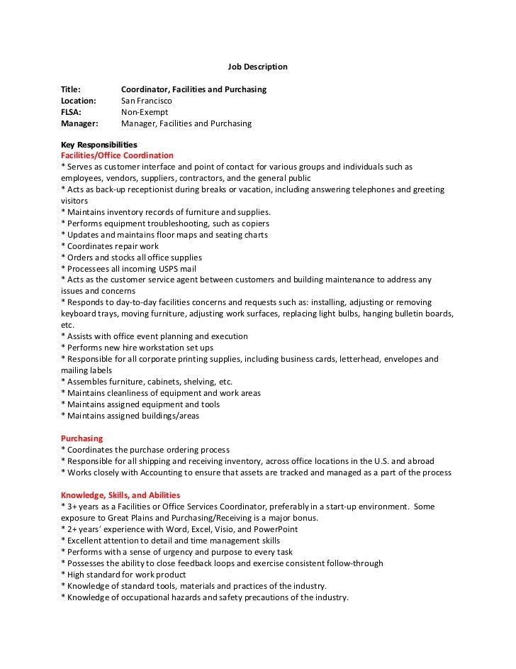 Manager Resume Title