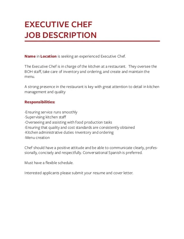 waitress job description job description for waiter on resume job