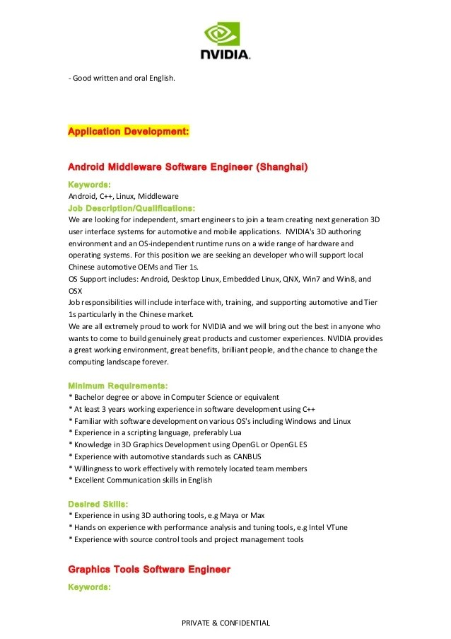 application engineer radiofrequency and electromagnetic field – Application Engineer Job Description