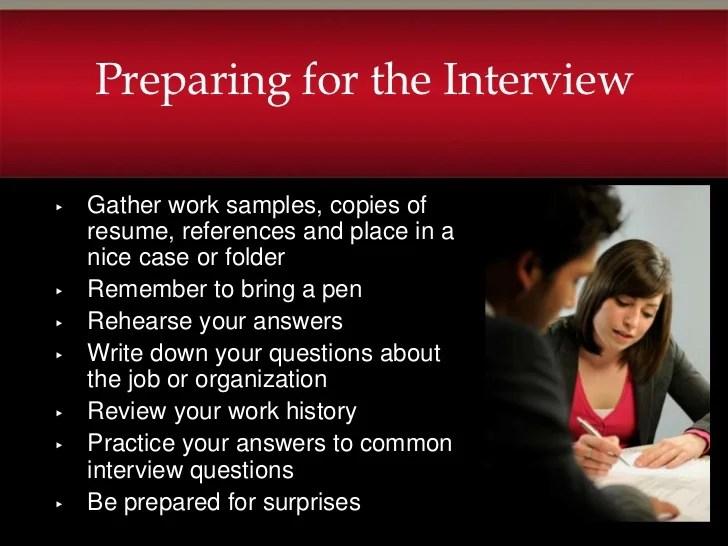 interviewer resume samples