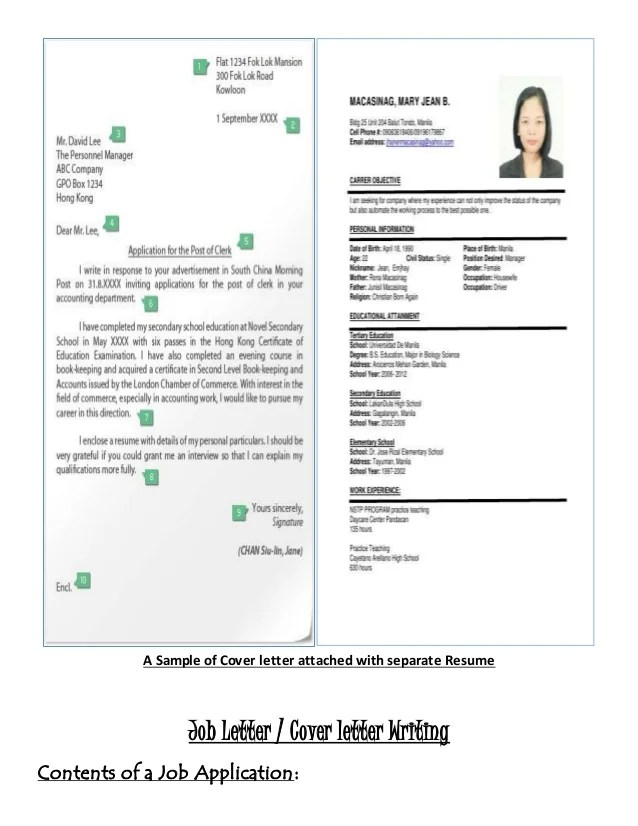job application letter with resume attached - Josemulinohouse - sample resumes for job application