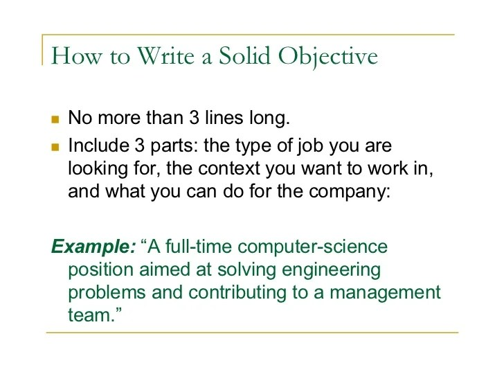 what is an objective summary - Funfpandroid - objective or summary on resume