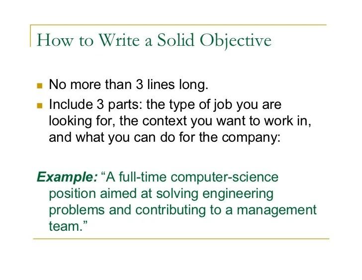 what is an objective summary - Doritmercatodos - how to write a job summary