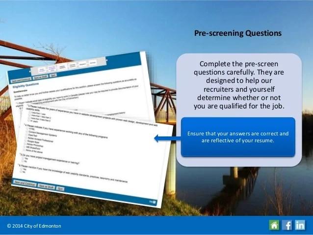 Job Application Screening Questions | Education Focused Resume