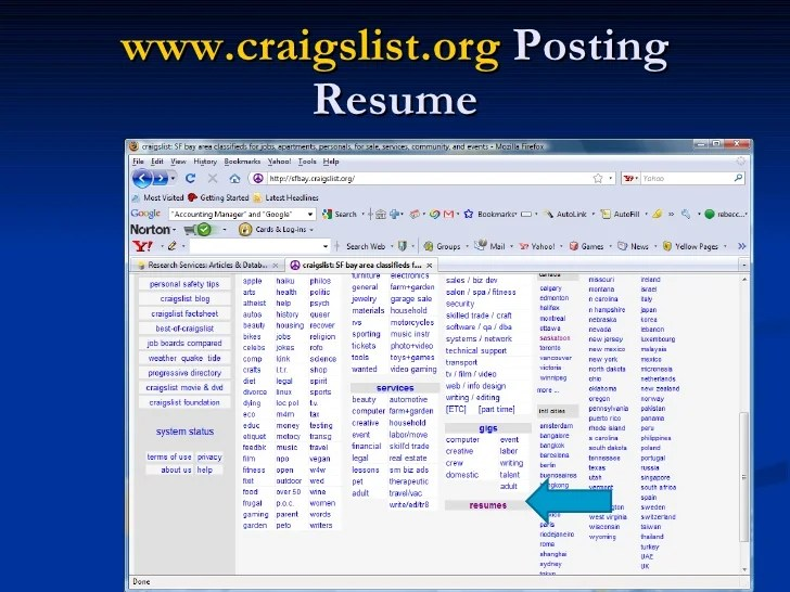 search resumes on craigslist indeed resume search cost indeed