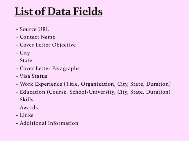 indeed resume database cost