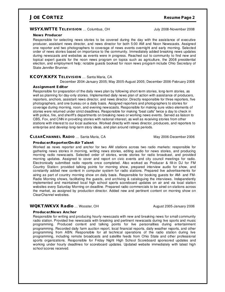 Resume-samples-producer-resumestelevision-executive-producer