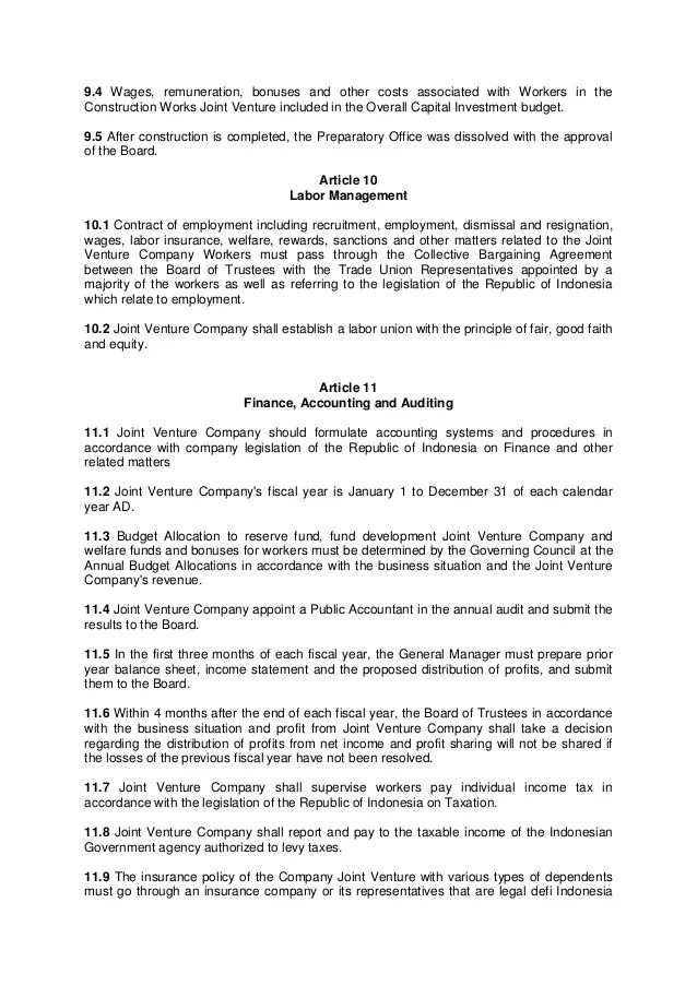 Sample Collective Bargaining Agreement - sarahepps - - collective bargaining agreement template