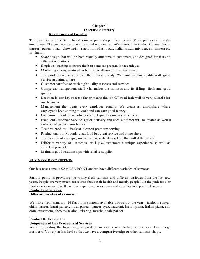 Brewery Business Plan Sample Company Summary Bplans Juice Business Plan2