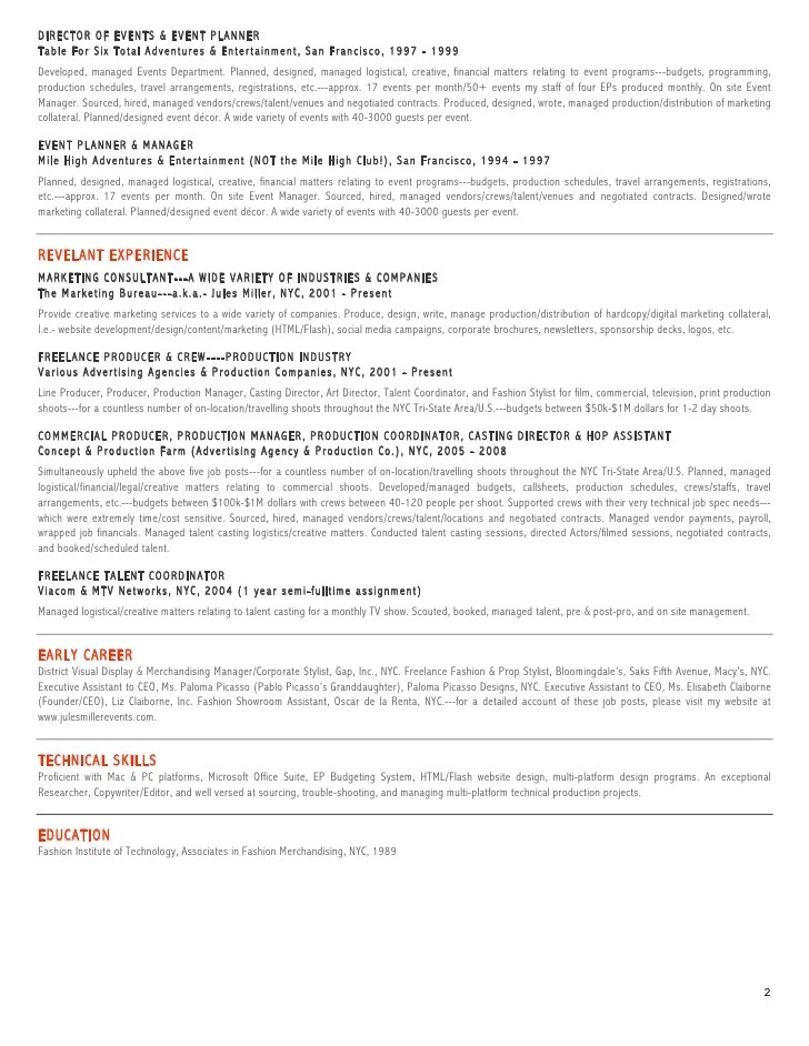 tv promotion director resume cover letter sample art director - tv promotion director resume