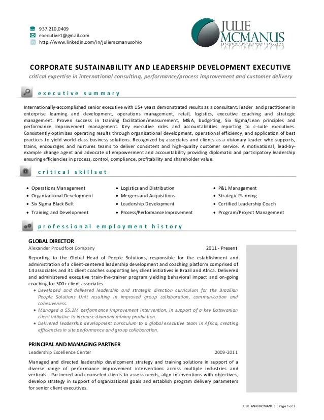 resume agile coach