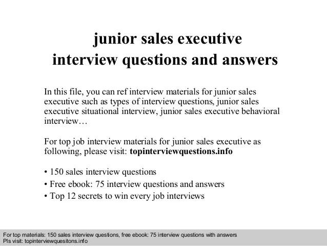 junior sales resume - Konipolycode