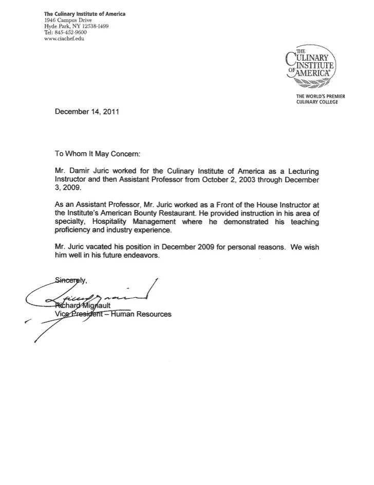 Sample Letter Of Recommendation 23 Free Documents In Doc Reference Letter – Damir Juric Che Assistant Professor In