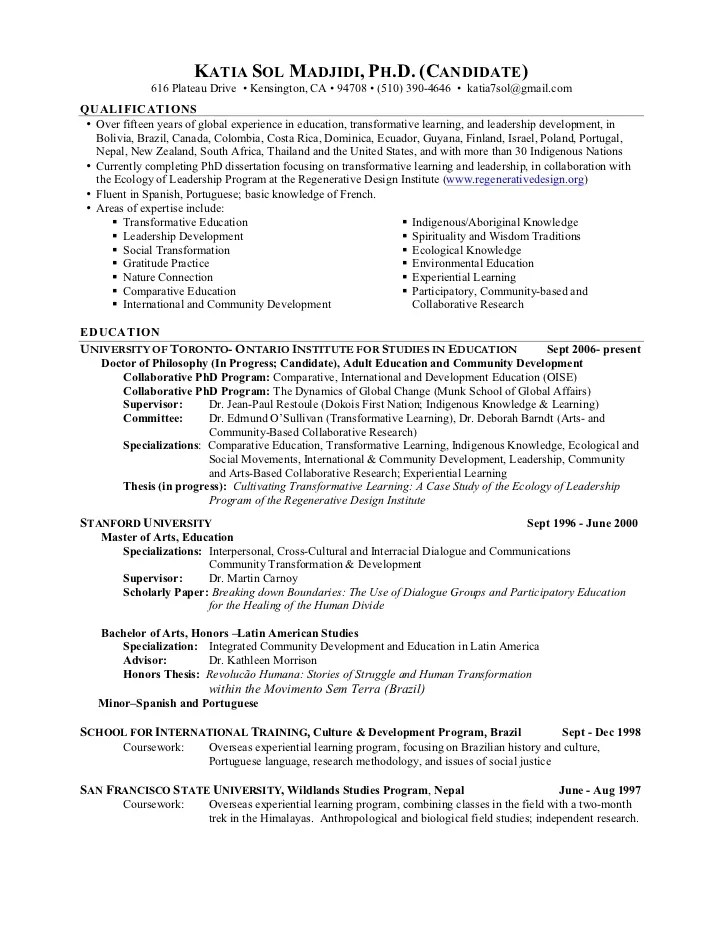 how to write academic resume - Onwebioinnovate - how to write an educational resume