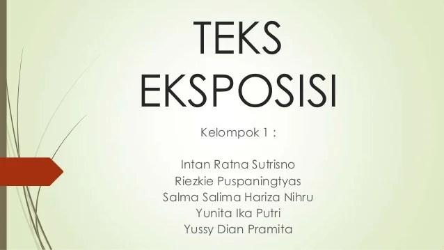 Contoh Teks Eksposisi Eksposisi Wikipedia Bahasa Indonesia Ensiklopedia Bebas Teks Eksposisi