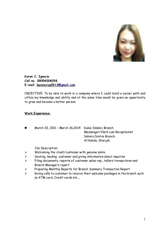 Resume Sales Lady Image Collections Resume Format Examples 2018