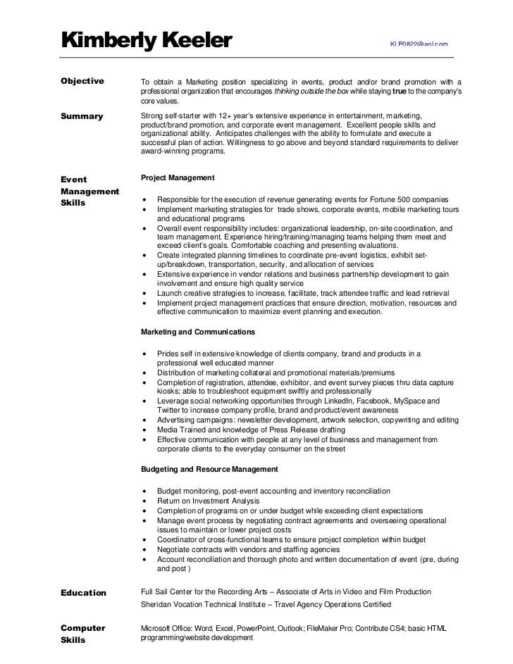 sports marketing resumes - Selol-ink - sports agent sample resume