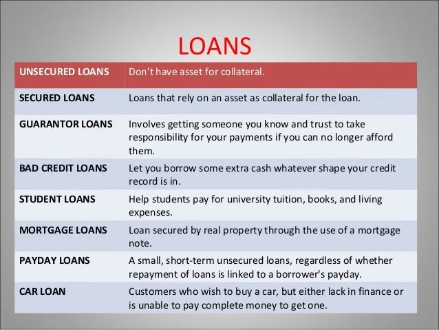 Kinds of loan- Catch the different types with Hogo Loans