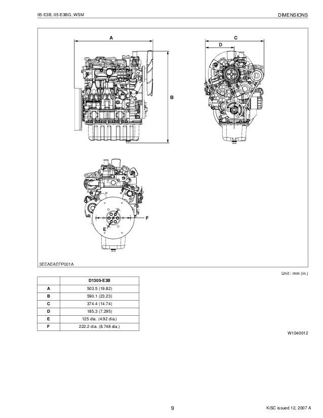 kubota v1505 engine manual