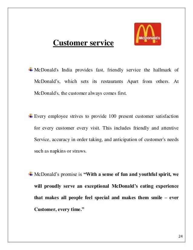Resume Cover Letter Template Customer Service Resume Cover Letter Samples Bestsampleresume Mc Donalds Summer Internship Pune