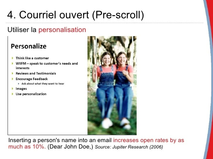 courriel cv