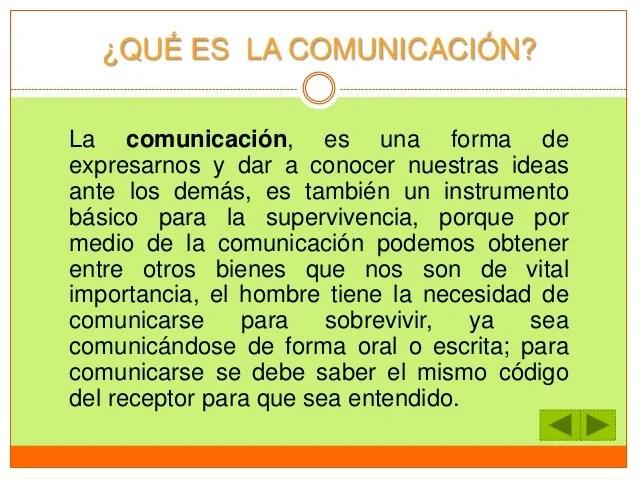 La comunicacion y barreras de la comunicacion