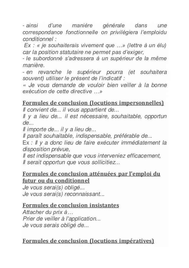 lettre administrative superieur hierarchique