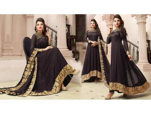Indo Western Latest Floor Length Long Designer Anarkalis