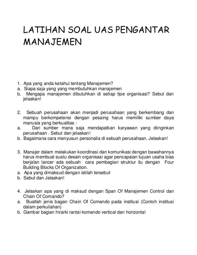 Contoh Kasus Msdm Kumpulan Judul Contoh Tesis Manajemen Sdm Sumber Daya Latihan Soal Uas Pengantar Manajemen