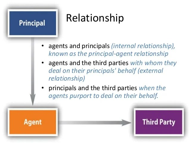 What Is The Principle Agent Relationship Using Research