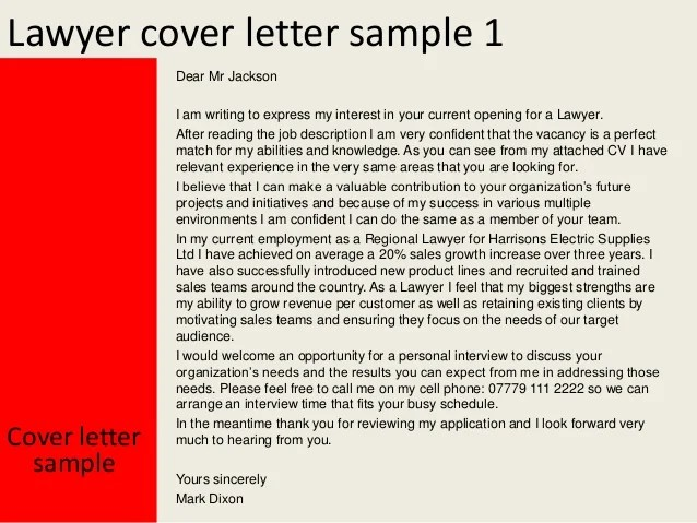 sample law cover letter - Josemulinohouse - sample lawyer cover letter