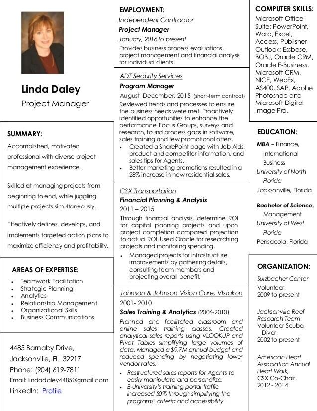 it program manager resumes - Kubrakubkireklamowe