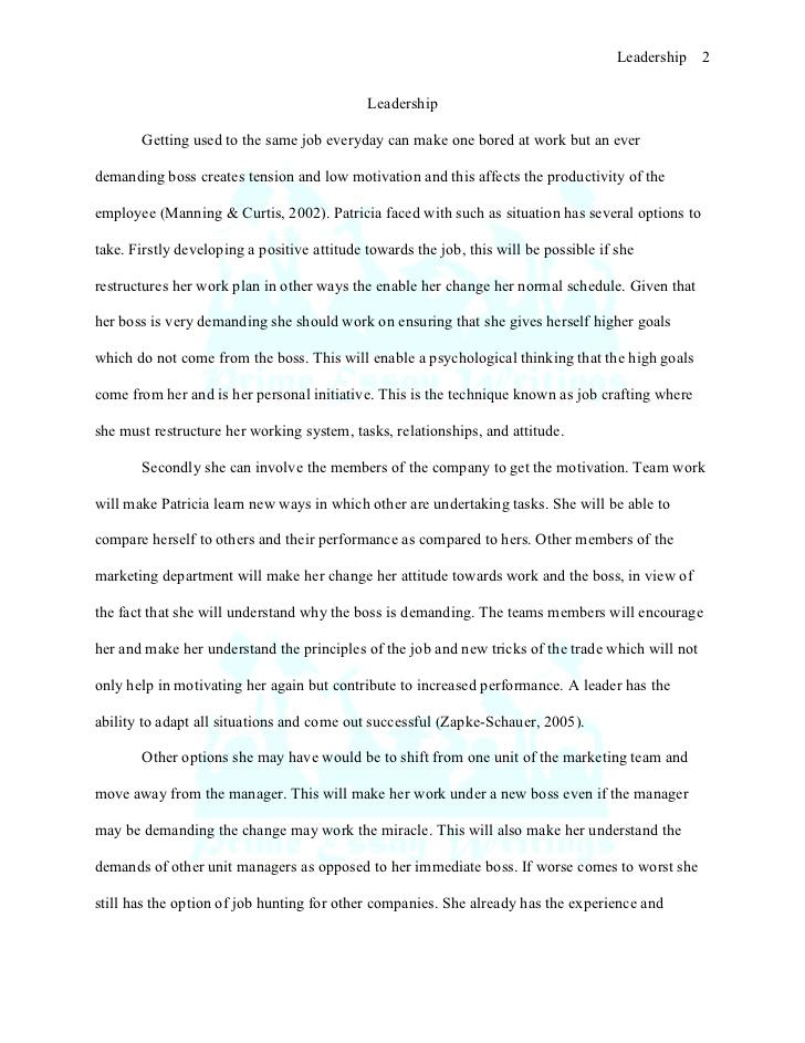 Leadership essays samples www vikingsna org