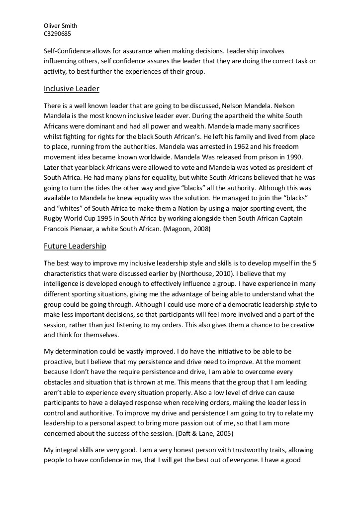 how to write a leadership essay co how