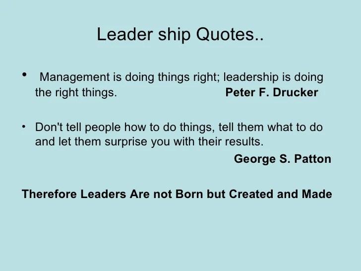 describe leadership skills