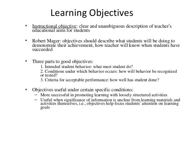 teacher objective resume - Funfpandroid