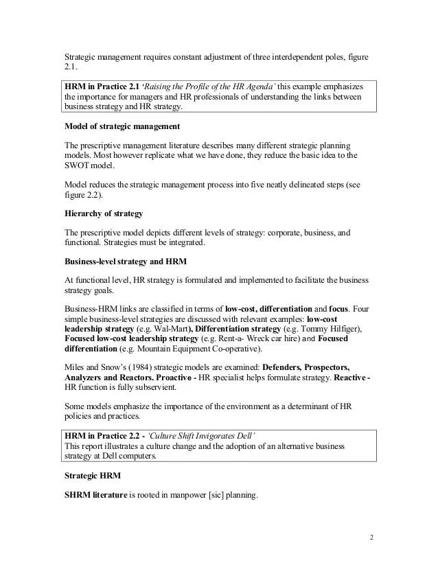 human resource strategies examples - Onwebioinnovate - human resource examples