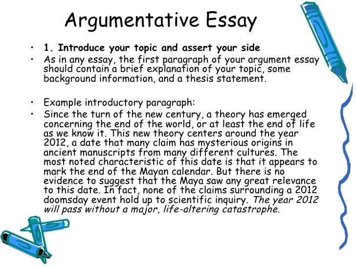 resume introductory paragraph examples argumentative essay introduction paragraph free essays and papers persuasive essay introduction - Argument Essay Introduction Example