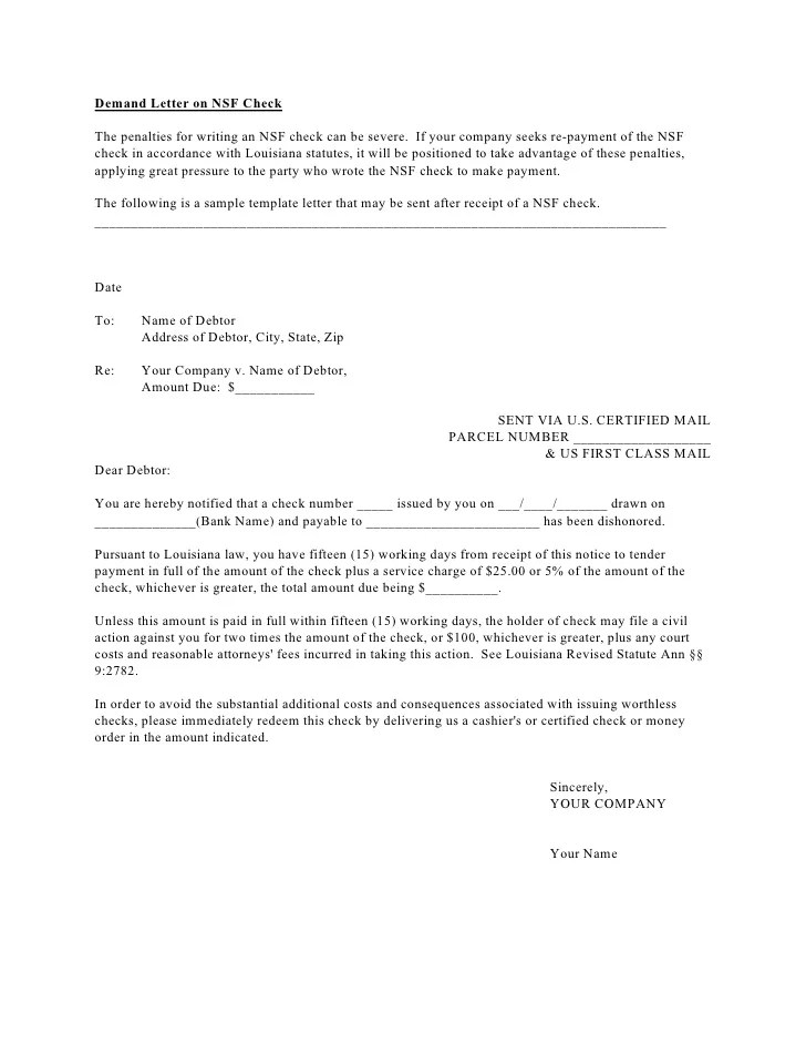 Legal Collection Letter Template | Cv English Example Hr