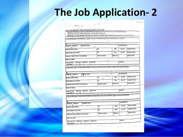 Application For Employment Legal Aspects Of Avoiding And Defending Negligent Hiring