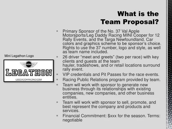 racing sponsorship proposal sample - Ozilalmanoof - free racing sponsorship proposal template
