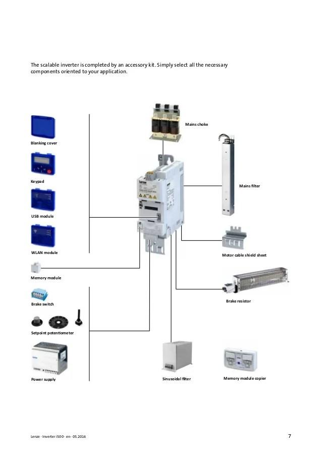 lenze motor wiring diagram
