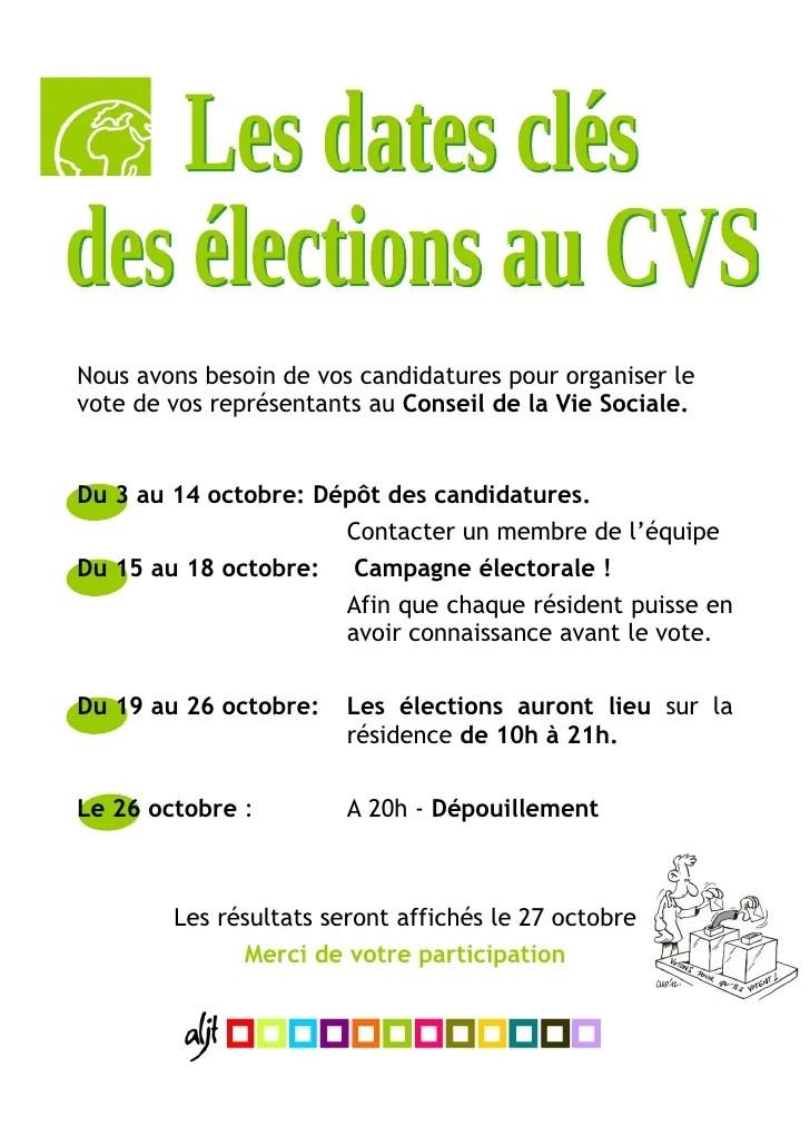 comment organiser des elections cvs en ehpad