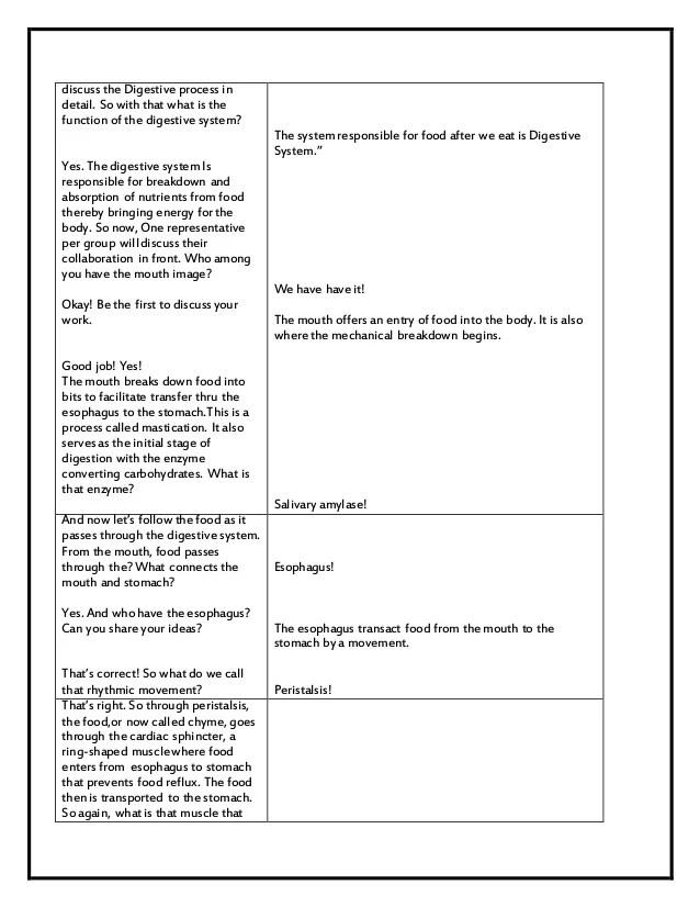 health lesson plan – Sample Music Lesson Plan Template