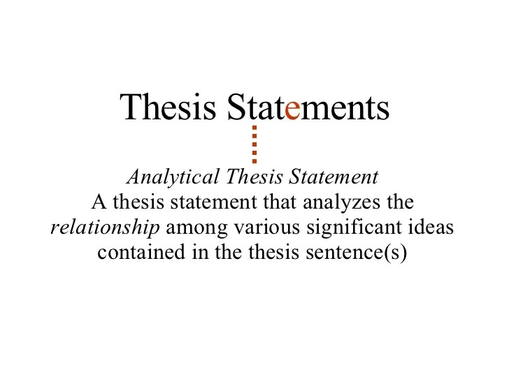 Essay Thesis Statement Generator Excellent Ideas For