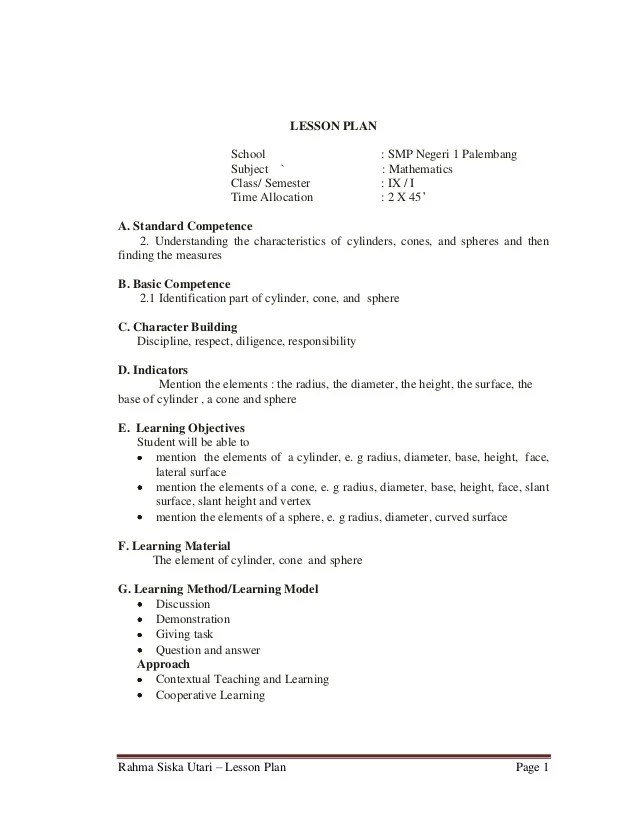 Group Activities For High School Math math lesson plan for high – Math 9th Grade Worksheets