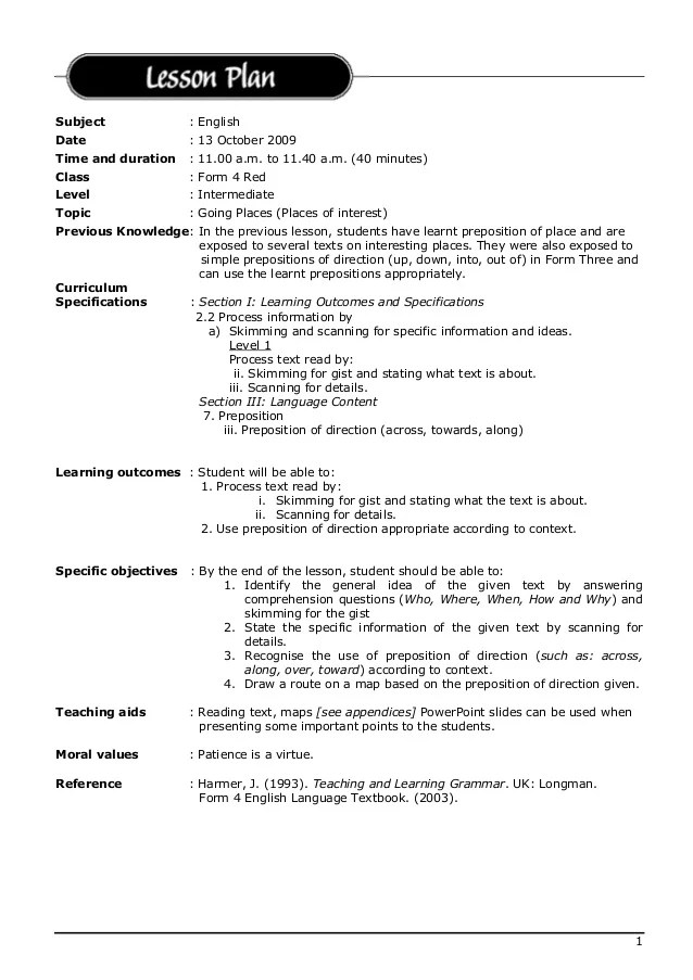 resume lesson plan powerpoint - Josemulinohouse