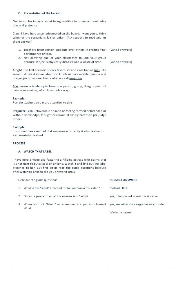 Middle School Lesson Plan Template Resume Writing Lesson Plan Resume Lesson  Plan  Resume Lesson Plan