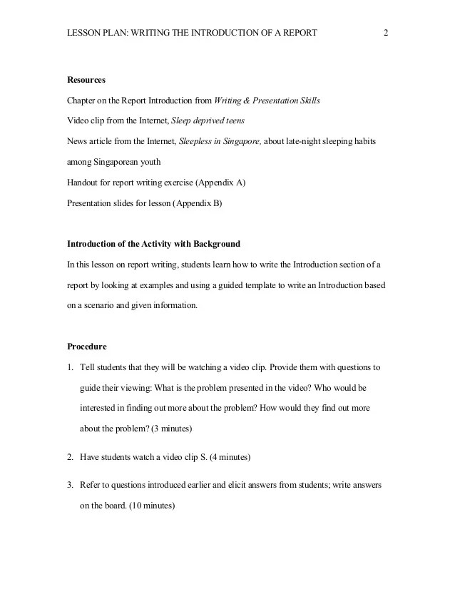 how to write student reports - Romeolandinez