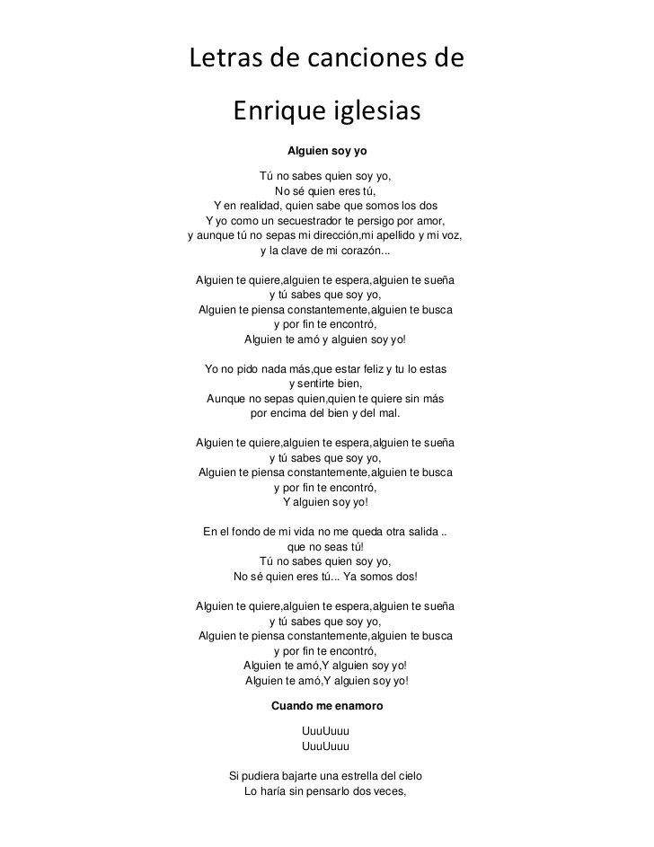 letra de la cancion de don t speak: